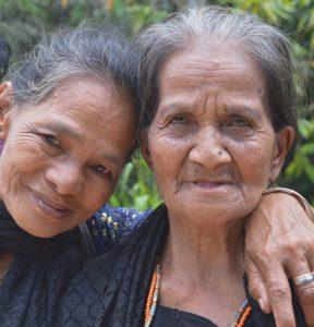 Damen in Rantepao