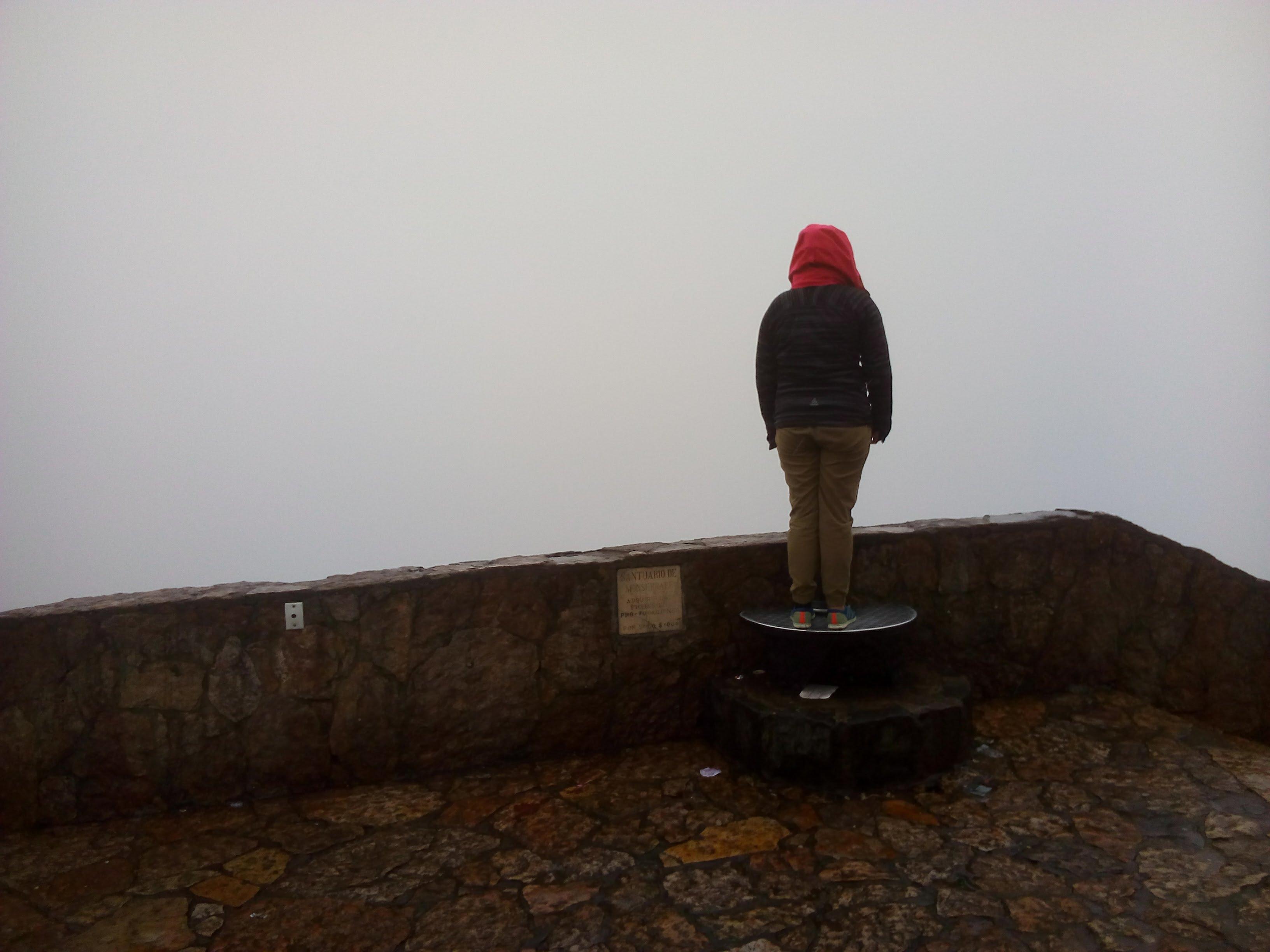 Nebel über Bogota