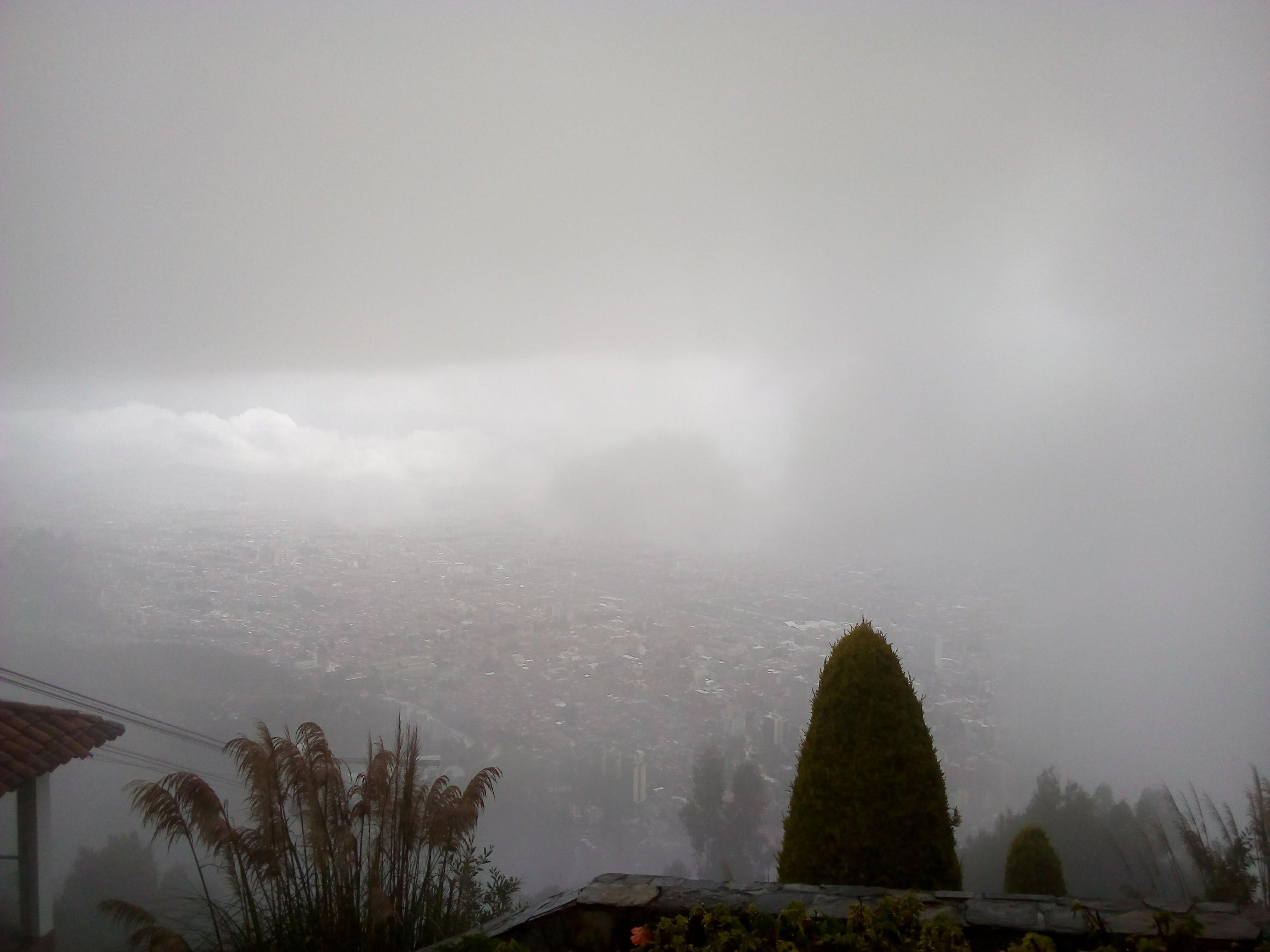 Blick über Bogota