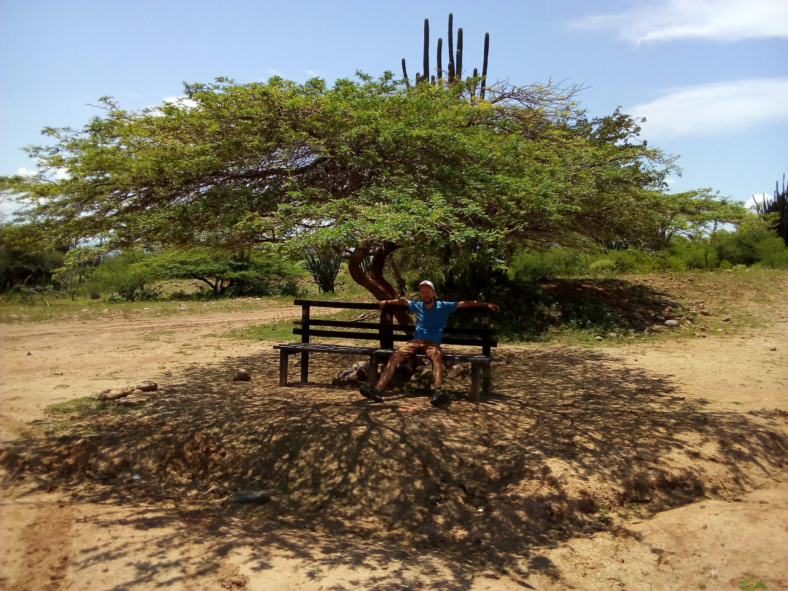 Schattensuchen in der Tatacoa-Wüste