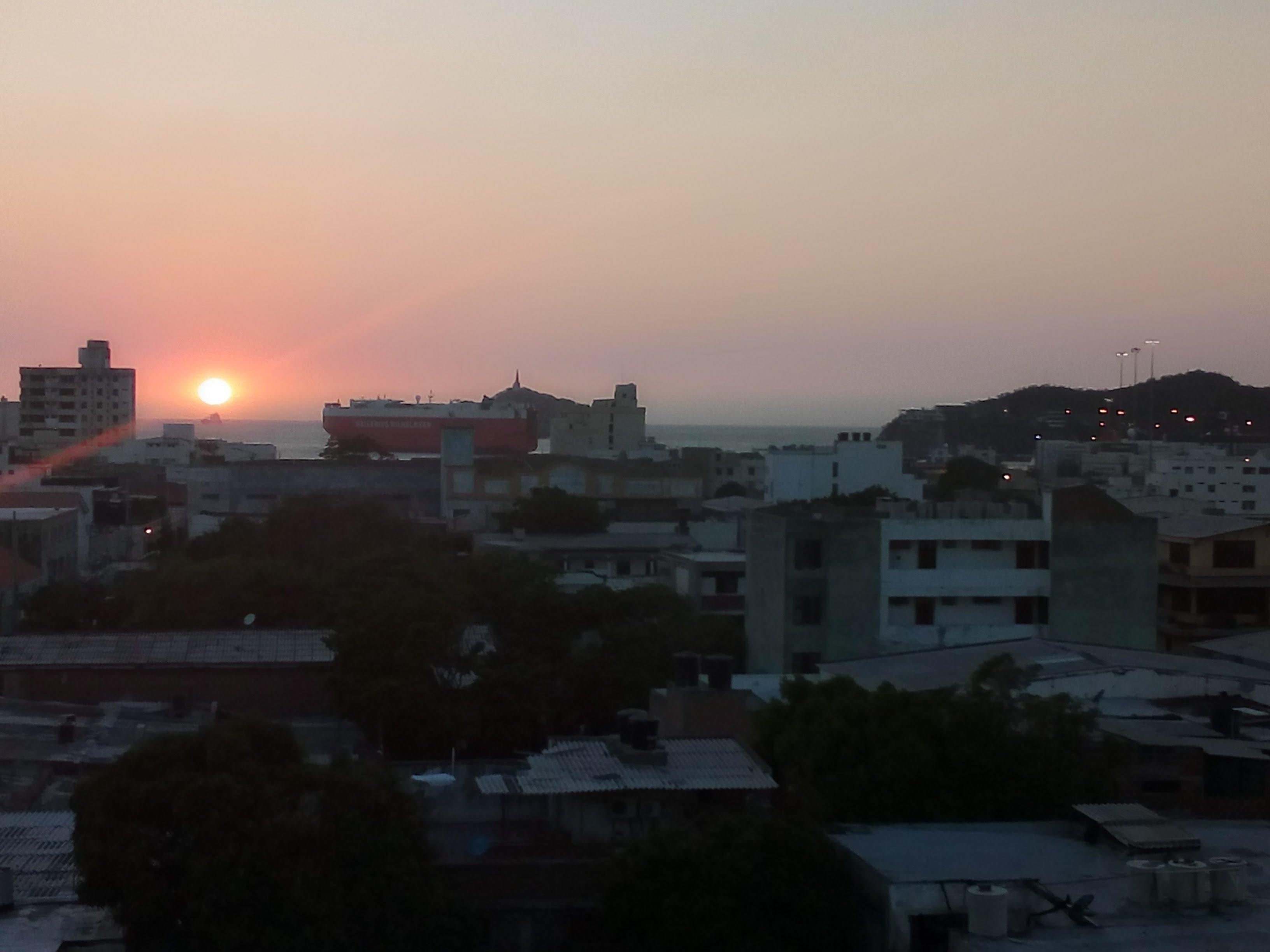 Sonnenuntergang Santa Marta