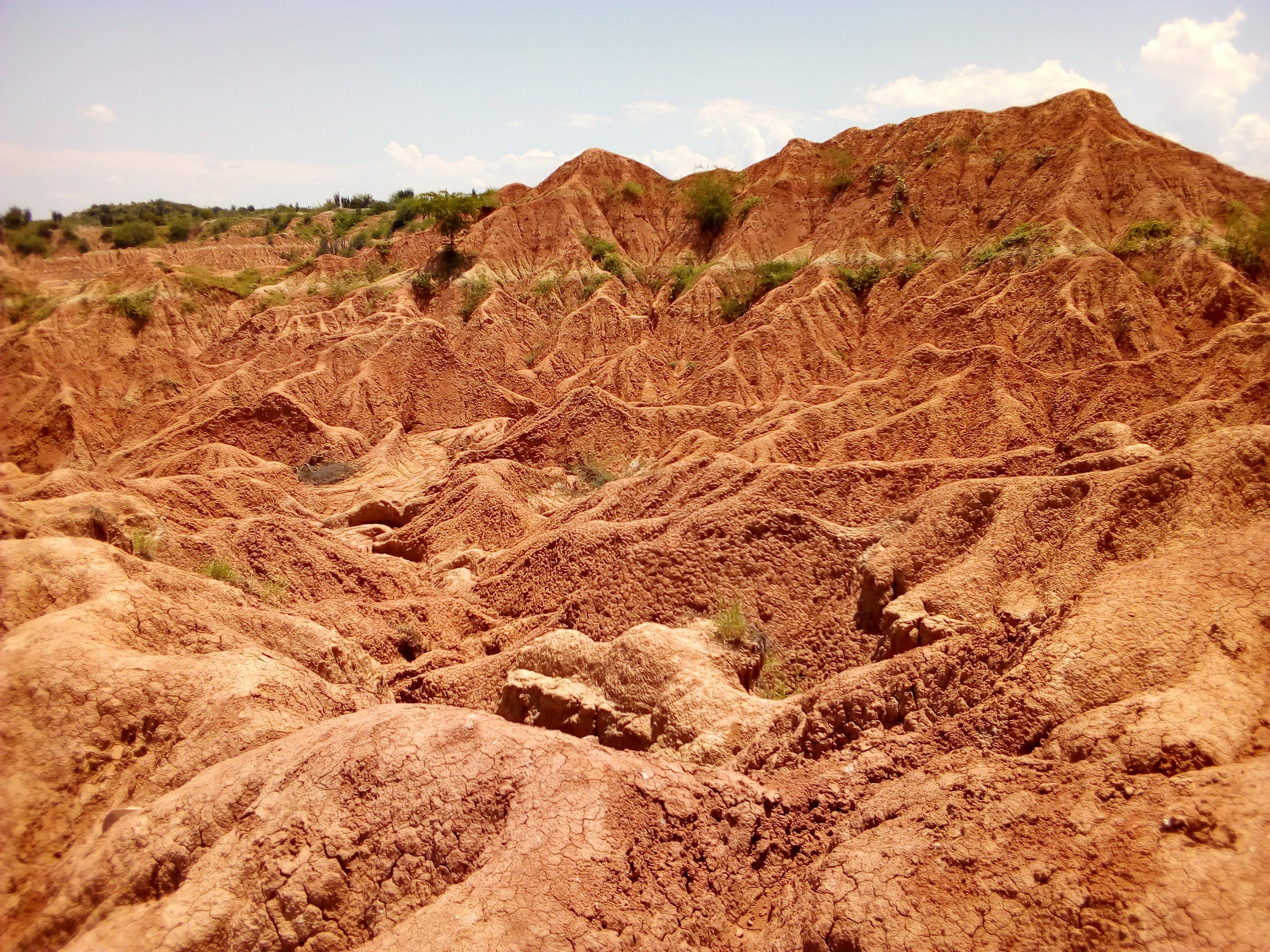 rote Tatacoa-Wüste